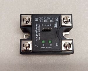 New! Dual Solid State Relay, 280vac, 25A, Zero