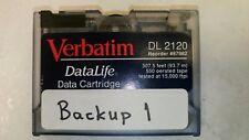 VERBATIM DL 2120 cartuccia di dati