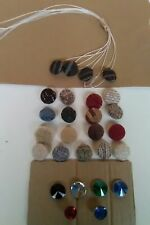 Made To Order Upholstery Button Covering Service *Caravans, chairs, stools & All