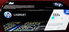 HP Q3691A - 122A CIANO HP LJ 2550 2820 2840 Cosmetici minori vedere Pix GENUINE SIGILLATO