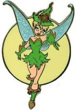 HALLOWEEN TINKER BELL Is SEXY WITCH Glitter WINGS FULL MOON DISNEY PIN 85386 NEW