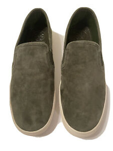Authentic Tory Burch Olive Max Slip-On Sneaker - Size 8 (New Without Box)