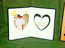 """First Communion Picture Frame """"In His Light"""" New - 1996 - by Enesco"""