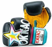 YOKKAO HAVANA BLACK Thai Boxing Gloves - Choice of size