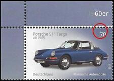 Porsche 911 Targa – Eckrand oben links – weißer Punkt über der Wertziffer – 3201