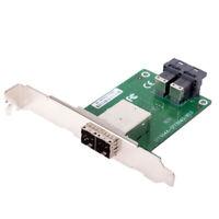 Dual Ports Mini SAS HD SFF-8644 To Internal SAS HD SFF-8643 PCBA Adapter