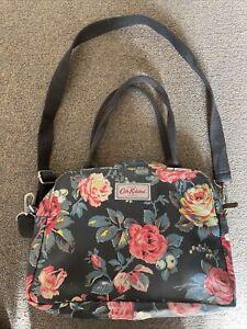 CATH KIDSTON Shoulder Floral Bag -  Grey Black Colour