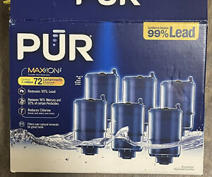 PUR Maxion Mineral Clear 4 Replacement Faucet Filters - Open Box
