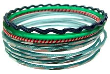 Green Bangle Bracelets For Women Blue Bangles Set Of Bangles 3466