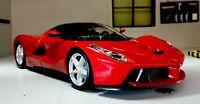 G LGB 1:24 Scale La Ferrari Red Detailed Bburago Superb Diecast Model Car Burago