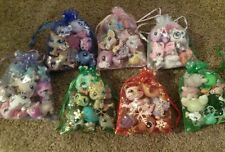 Littlest Pet Shop LPS Lot 💜 6 Pets + 6 Accessories Grab Bag 💜 Semi Blemished