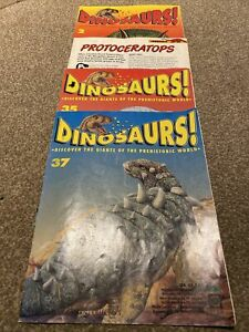 Dinosaurs! Magazine, Orbis Play and Learn Collection - 4 In total