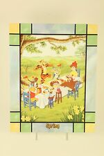 Danbury Mint Disney Winnie The Pooh Stained Glass Clock Spring Replacement Panel