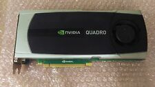 NVIDIA QUADRO 6000 6gb GDDR 5 PCI-e GPU scheda grafica x16 workstation CAD Dell HP
