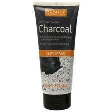Beauty Formulas With Activated Charcoal Clay Mask 100ml