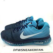 8c9b5a89bb2 Nike Air Max 2017 Men s 12.5 Running Shoes Binary Glacier Blue 849559-404  NEW