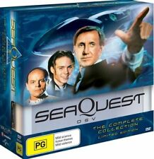 Seaquest Season 1 + 2 + 3 Complete Collection (DVD, 18-Disc Set) BRAND NEW