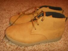 Under Armour 1289002 222 School UA Coast Nubuck Boot Light Brown Size 6 YOUTH