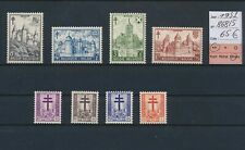 LO69005 Belgium 1951 castles anti-tuberculosis lot MNH cv 65 EUR