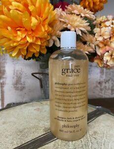 Philosophy Pure Grace Nude Rose Shampoo Bath Shower Gel 16 fl oz New