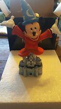 Disney Disneyland 60th Fantasia Sorcerer Mickey Grand Jester Figurine NEW W/ BOX
