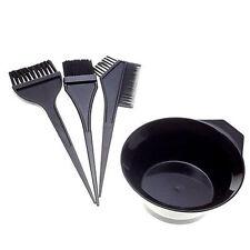 4Pcs Hair Colouring Brush And Bowl Set Bleaching Dye Kit Salon Beauty Comb Tint