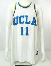 Reebok Ucla #11 Men's Basketball Jersey White Blue Xl