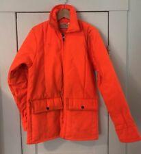 Vintage SafTbak Blaze Orange Zippered Hunting Jacket, Sm, Altoona Pa Usa