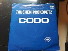 SINGLE TAUCHEN PROKOPETZ - CODO - GIG RECORDS SPAIN 1983 VG/VG+