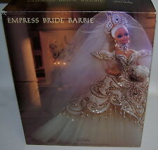 Designer Bob Mackie Beautiful Empress Bride Barbie Doll NIB w/Shipper Box 1992