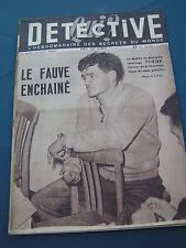 Détective 1950 205 CONCOULèS BREST AMBéRIEU BOISSETTES SALON LAMBESC ST CANNAT S