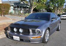Car Hood Bonnet Bra + LOGO Fits Ford Mustang 05 06 07 08 2005 2006 2007 2008