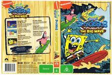 SPONGEBOB SQUAREPANTS: SPONGEBOB AND THE BIG WAVE.  7 EPISODES,  DVD