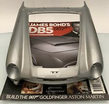 JAMES BOND 007 - ASTON MARTIN DB5 1:8 SCALE BUILD GOLDFINGER ISSUE 77 USED