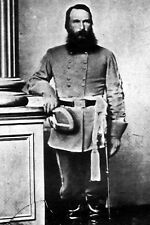New 5x7 Civil War Photo: CSA Confederate General James Longstreet