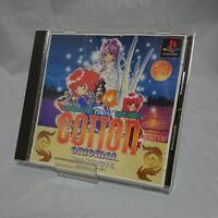 PlayStation Cotton Original Japan PS1 japanese gam