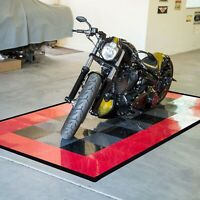 FlooringInc Diamond Nitro Tile | Motorcycle Mats