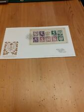 The 50th Anniversary Of The Country Definitives Mini Sheet Fdc