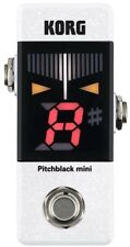 NEW KORG PB-MINI-WH Pitchblack mini PEDAL TUNER WHITE from JAPAN