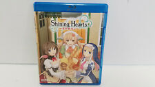 SHINING HEARTS COMPLETE COLLECTION Blu Ray AUTOGRAPHED US SELLER