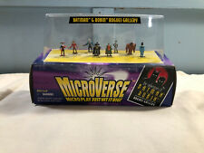 Microverse BATMAN & ROBIN ROGUES GALLERY 8 figures MIP Kenner
