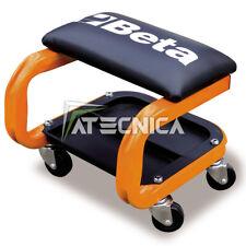 Seggiolino con rotelle girevoli Beta 2252 O imbottito con porta minuteria