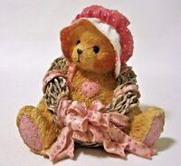 Cherished Teddies PRISCILLA Love Surrounds Our Friendship Bear Wreath 910724 IOB