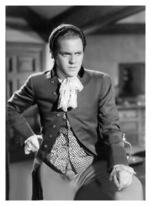 LOUIS HAYWARD INTENSE PORTRAIT FOR ANTHONY ADVERSE