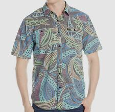 VOLCOM Men's ENFIELD S/S Button Shirt - BLK - XL - NWT