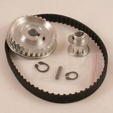 Mini Lathe 7x10,12,14 Pulley Belt 3:1 Ratio Reduction,XL Upgrade Kit,GPXL3010X