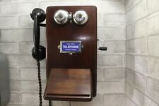 Antique/Vintage Wooden Telephone - Beautiful!-Works on any network