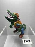 LEATHERHEAD - TMNT - Original Teenage Mutant Ninja Turtles -VINTAGE -🔥