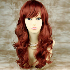 Wiwigs Sunning Copper Red Curly Wavy Long Ladies Wigs
