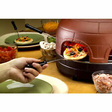 New  Premium Pizza Dome Portable Italian Brick Baked Pizza Maker Oven Dome